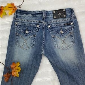 Miss me jeans  boot cut size 29 light blue